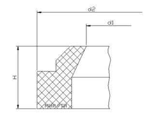 грязесъемник ГОСТ 24811-81 чертеж