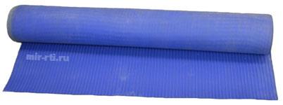рулонное напольное покрытие синее
